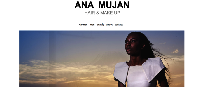 ana mujan · hair & make up