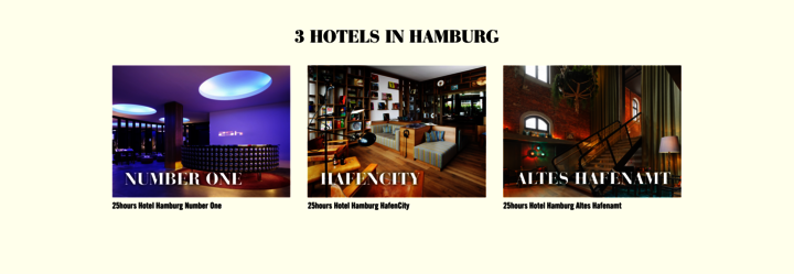 25hours Hotel Hamburg